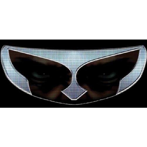 SkullSkins Gladiator SK Motorcycle Shield Skin Silver