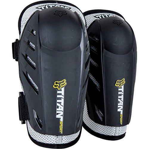 Fox Racing Titan Sport Elbow Guards Black/silver, L/xl - Men's