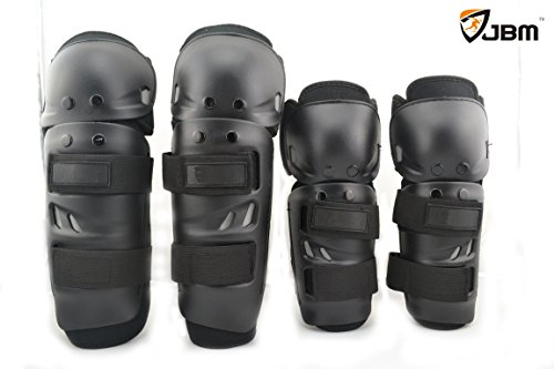 Jbm® Moto Elbow Knee Shin Guards Mx Moto-x Armour Pads For Motorcycle Protector Motobike Motocross Racing Rider