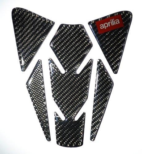 RZ Motodesign Carbon Fiber Motorcycle Tank Protector Pad for Aprilia RSV4