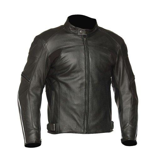 DAINESE Zen Evo Leather Motorcycle Jacket - 4454 Black