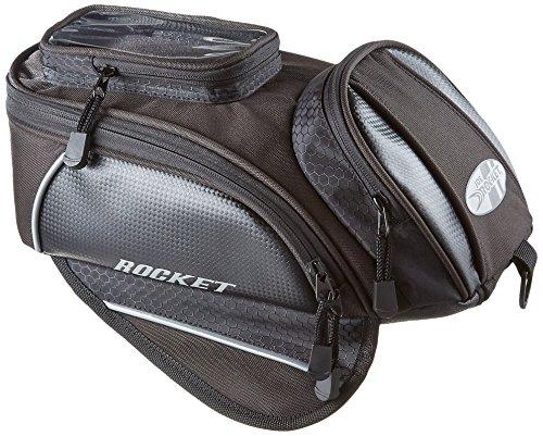Joe Rocket 559-0800 Manta BlackCarbon 13 x 75 x 5 Motorcycle Tank Bag