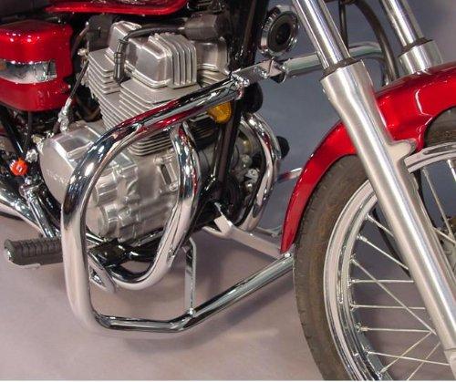 MC Enterprises Engine Guard Full Size 1-14 Chrome for Honda Rebel 250 1996-12