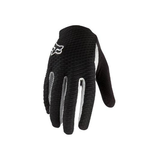Fox Head Mens Attack Glove BlackWhite Medium9