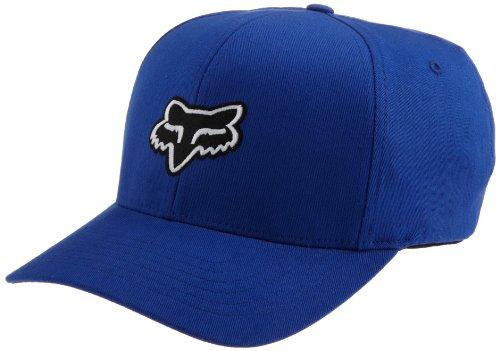 Fox Head Mens Legacy Flexfit Hat Blue LargeX-Large
