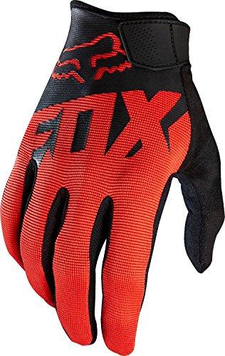 Fox Head Mens Ranger Bike Safety BMX MTB Gloves BlackRed X-Large