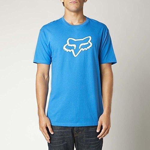 Fox Racing Mens T Shirt Legacy Fox Head Tee Blue 2X Large