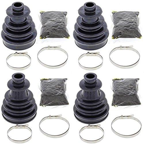 Complete Front Inner Outer CV Boot Repair Kit for Polaris Sportsman 500 4x4 HO 2005 All Balls