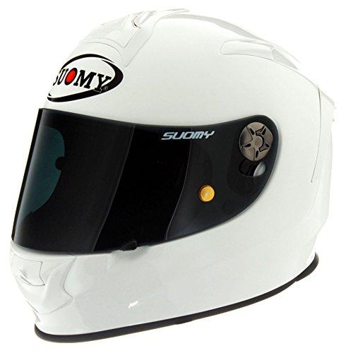 Suomy SR Sport Helmet Plain White Medium