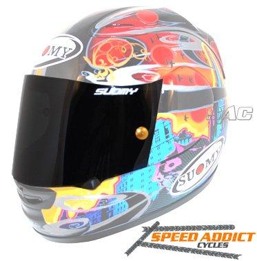 Suomy Spec-1R  Extreme  Apex  Excel Dark Smoke Race Shield