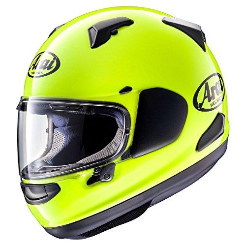 ARAI QUANTUM-X Flourescent Yellow Motorcycle Helmet SM