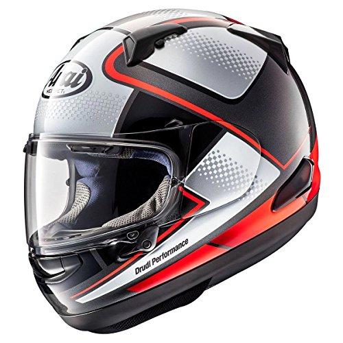 Arai Quantum-X Box Red Full Face Helmet - X-Small