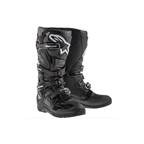 Alpinestars Tech 7 Enduro Mens Off-Road Motorcycle Boots - Black  10