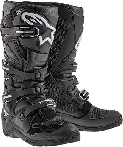 Alpinestars Tech 7 Enduro Mens Off-Road Motorcycle Boots - White  10
