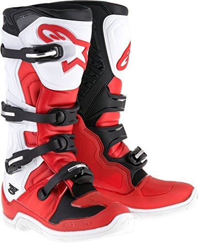 Alpinestars Tech 5 Boots - 10RedWhiteBlack