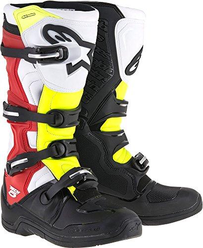 Alpinestars Tech 5 Boots-BlackRedYellow-11