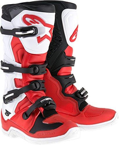Alpinestars Tech 5 Boots-RedWhiteBlack-12