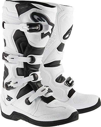 Alpinestars Tech 5 Boots-WhiteBlack-13