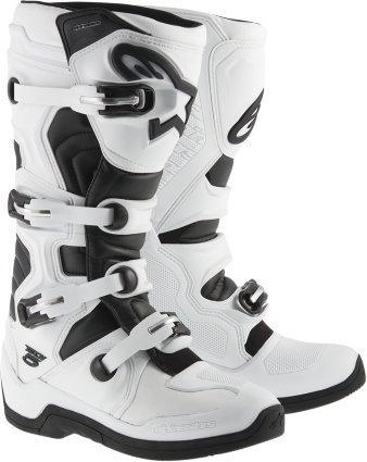 Alpinestars Tech 5 MX Boots Adult Motocross Sole White Black - 11