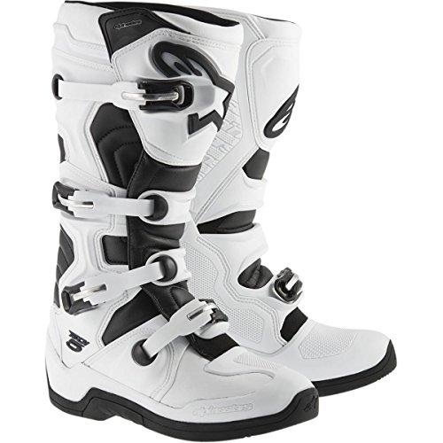 Alpinestars Tech 5 Mens Off-Road Motorcycle Boots - WhiteBlack  10