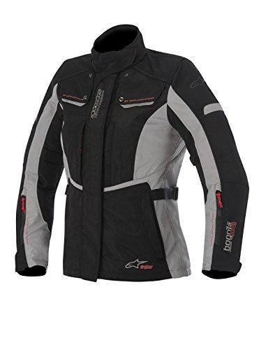 Alpinestars Stella Bogota Drystar Womens Jacket Primary Color Black Size Lg Apparel Material Textile Distinct Name BlackGray Gender Womens 3217015-102-L