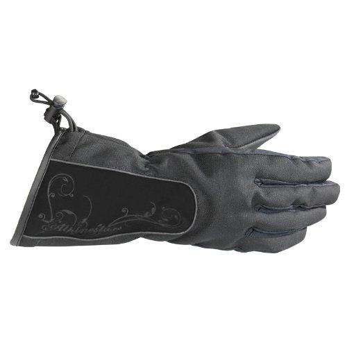 Alpinestars Stella Messenger Drystar Womens Gloves  Distinct Name Black Size Md Gender Womens Primary Color Black Apparel Material Leather 3538711-10-M