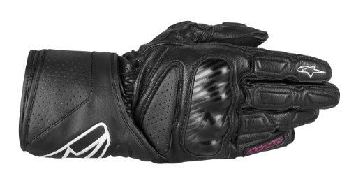Alpinestars Stella SP-8 Womens Gloves  Gender Womens Apparel Material Leather Distinct Name Black Primary Color Black Size Lg 3518313-10-L