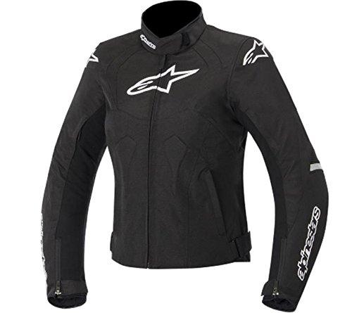 Alpinestars Stella T-Jaws WP Womens Jacket Gender Womens Primary Color Black Size Lg Apparel Material Textile Distinct Name BlackWhite 3211015-12-L