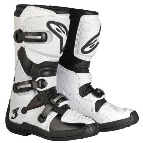 Alpinestars Stella Womens Motorcycle Motocross MX Boots Tech 3 WhiteBlack 6