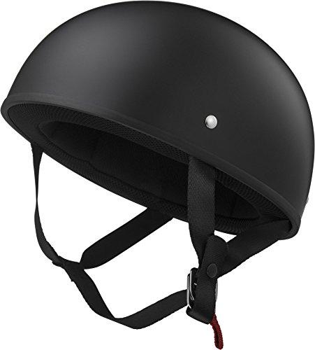 LS2 Helmets Stripper Unisex-Adult Half Helmet Motorcycle Helmet Matte Black Medium