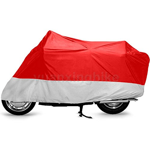 Outdoor UV Protector Motorbike Rain Dust Bike Motorcycle Cover L RS