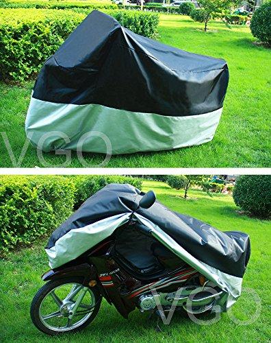 Outdoor UV Protector Motorbike Rain Dust Bike Motorcycle Cover M