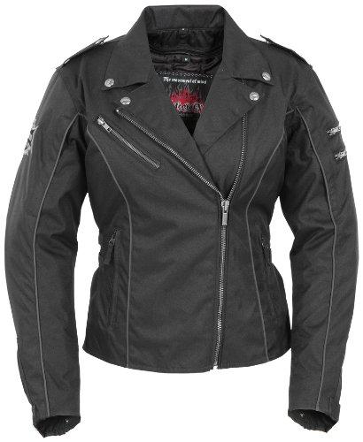 Pokerun Drifter 2.0 Men's Textile Touring Motorcycle Jacket - Black / 3x-large