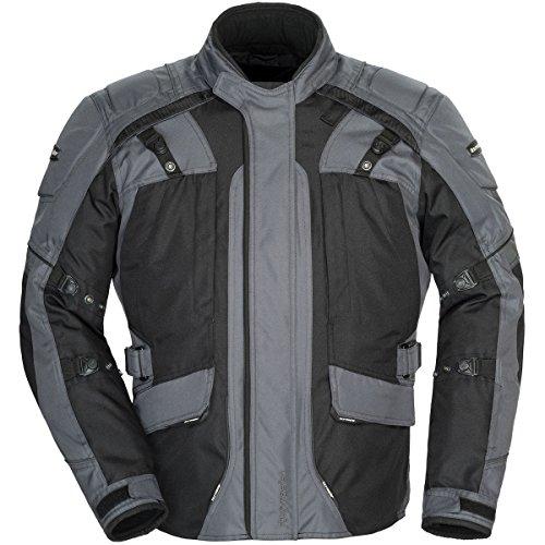 Tourmaster Transition Series 4 Men's Textile Motorcycle Touring Jacket (gun Metal/black, X-large)