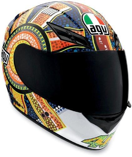 AGV K3 Dreamtime Helmet - MediumOrangeBlue