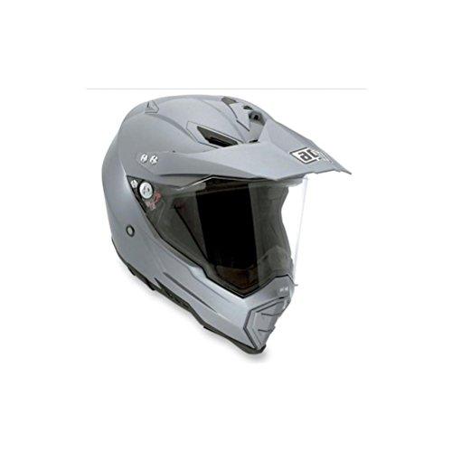 AGV AX-8 EVO Solid Helmet  Size 2XL Distinct Name Titanium Gray Helmet Type Full-face Helmets Helmet Category Street Gender MensUnisex Primary Color Gray 7611O4C0003011