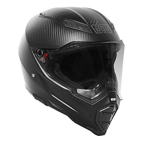 AGV AX-8 Evo Naked Matte Carbon Full Face Helmet XL