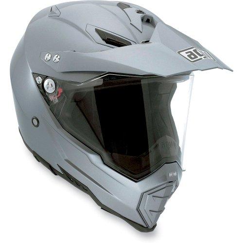 AGV AX-8 Dual EVO Titian Grey Off-Road Motorcycle Helmet 3X AGV SPA - ITALY 7611O4C0003012