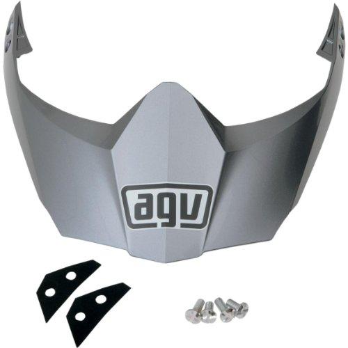 AGV Helmet Visor for AX-8 Dual SportEVO - Titanium Gray KIT76110001