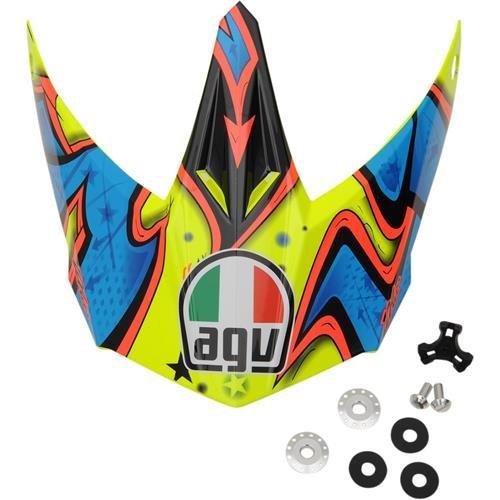 AGV Peak for AX-8 Dual Sport EVO Helmet - BlueOrange KIT75002041