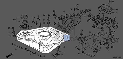 Honda 2014-2017 TRX420FA1 Fuel Tank 17510-HR3-A21 New OEM