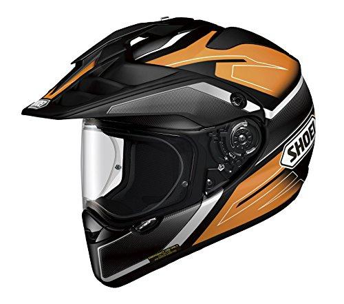 Shoei HORNET ADV SEEKER TC-8 Orange Black L 59cm Size Full Face Helmet