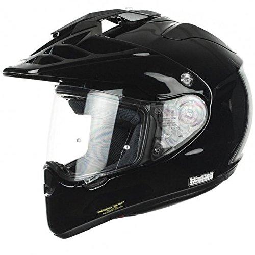 Shoei Hornet Adv Plain Black Motorcycle Helmet
