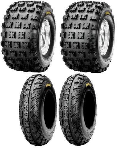 NEW Front Rear ATV 4 Tires Tire Set 20X109 21X710 20x10x9 21x7x10 Honda 250R 400EX 450R ATC TRX Yamaha Raptor YFZ450
