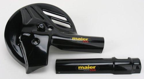 Maier Mfg ForkDisc Guard - Black  Color Black 596740