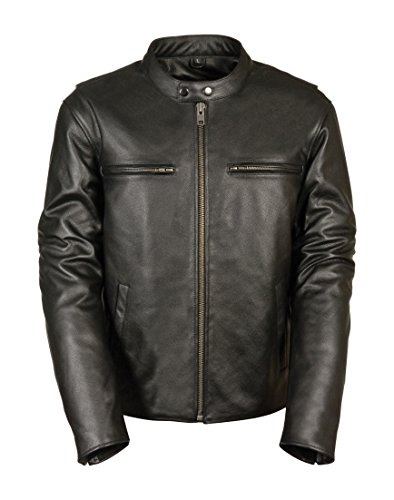 Milwaukee Men's Classic Vented Scooter Jacket With Side Stretch (black, Large)