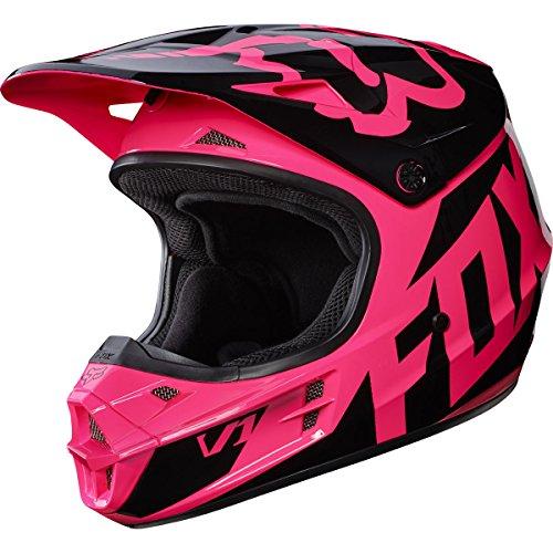 Fox Racing 2017 Race Adult V1 Motocross Motorcycle Helmet - Pink  Medium