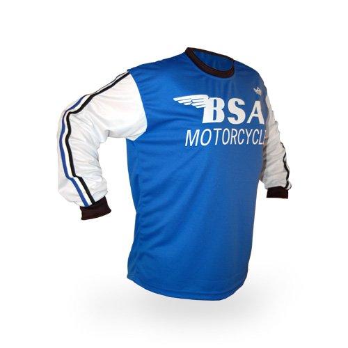 Reign VMX BSA Vintage Style Motocross Jersey - Size Large
