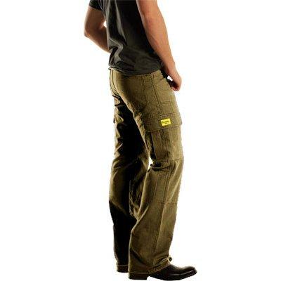 Drayko Jean Men's Cargo Street Motorcycle Pants - Khaki / Size 34