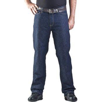 Drayko Renegade Riding Jeans Men's Denim Road Race Motorcycle Pants - Indigo / Size 38